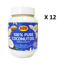 KTC 100% Pure Coconut Oil 500ml - No Added Ingredients For Vegans & Vegetarians