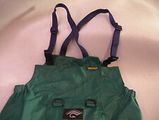 Fishing Over Trousers-Bib & Brace waterproof breathable light Size Large Tall