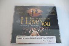 WOODY ALLEN CD NEUF PROMO TOUT LE MONDE DIT I LOVE YOU YVES SAINT LAURENT.