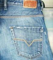 *HOT Men's DIESEL @ KROOLEY 885S - Slim CARROT DISTRESS Jeans 32 x30 (Fit 33x30)