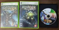 USED - BioShock 1 + 2 + Infinite Microsoft Xbox 360 Lot of 3 - Bundle