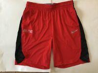 Mens NIKE DRY ELITE Basketball Shorts    Size XL    918943-657