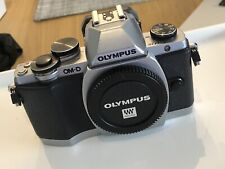 Olympus OM-D E-M10 Body Only - Black MFT M43 inc Batteries and Accessories