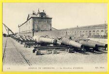 CPA France 50 ARSENAL de CHERBOURG La Direction d'Artillerie CANONS voir cachet
