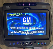 GM Invision DVD Headrest Monitor B Factory OEM ERVA07LEXXA2 Passenger Side