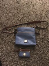 Dooney And Bourke Pebble Leather Crossbody & Small Wallet & Storage Bag