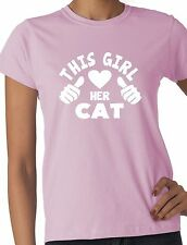 Cats Personalised T-Shirts for Women without