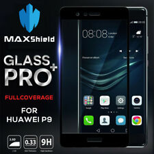 Huawei P9 Mate 9 10 Pro MAXSHIELD FULL COVERAGE TEMPERED GLASS SCREEN PROTECTOR