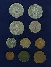MEXICO COINS 1861-1986 50 PESOS: 1986, 5 PESOS: 1971, 1972, 1976, 10 CENTAVOS: