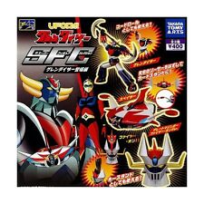 GRENDIZER & GREAT MAZINGER SUPER FIGURE COLLECTION SET 3 PZ TAKARA TOMY GOLDRAKE
