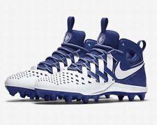 Nike Mens Huarache V Lacrosse Cleats Royal Blue White 15 New Shoe Sneaker 807142