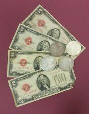 1928 $2.00 United States Note (1) 1921 Morgan Dollar (1) Coin Lot
