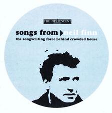 NEIL FINN: SONGS FROM NEIL FINN – ENHANCED PROMO CD (2001) 5 TRACKS + VIDEO