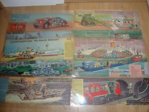 L144 Job Lot No.4 of Eagle Cutaways - Various Subjects *Take a Look*