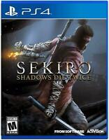 Sekiro: Shadows Die Twice (PlayStation 4, 2019)