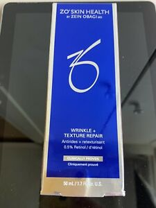 ZO Skin Health Wrinkle + Texture Repair 50ml / 1.7fl oz NIB AUTH Exp 11/22