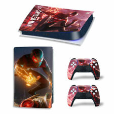 PS5 Digital Edition Skin Decal Sticker - Spiderman Design 14 - FREE P&P