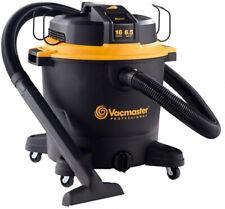 Vacmaster Beast Professional Series 16 Gal. 6.5 Hp Wet Dry Vacuum Powerful Vac