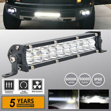 7inch 60W Slim LED Work Light Bar Spot Dual Row Truck ATV Offroad VS 13