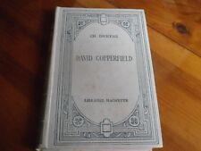 DAVID COPPERFIELD Edition HACHETTE 1926 TEXTE en ANGLAIS ILLUSTRATIONS MEYER TBE
