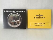 Breitling watch Instruction manual for Galactic 36 Automatic .