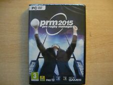 PRO RUGBY MANAGER 2015 PRM PC NEUF