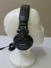 Sony MDR-V500 Dynamic Stereo Headphones Swivel Earcups Tested Working