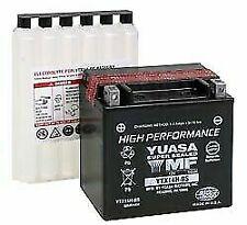 Yuasa YTX14H-BS Hyosung GT650, R, S '09-'13 AGM, High Performance 12v Battery