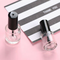 5/7.5/10ml Travel Nail Polish Empty Refillable Glass Bottle Container Gracious