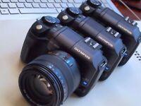 Last Mint OLYMPUS E-300 DSLR camera with Kodak CCD sensor from Leica collector