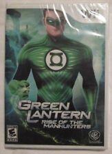 Nintendo Wii Green Lantern Rise of the Manhunters (Brand New)
