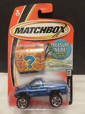 2005 Matchbox Dodge Ram SRT10 #59 Blue Treasure Inside Die-Cast Metal