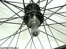 """Ruota posteriore 26"""" a filetto Komet nere per bici / mtb - mtb rear wheel"""