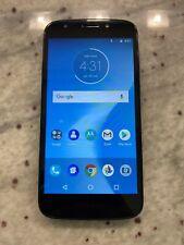 New listing Motorola Moto E5 Play Xt1921 Blue Cricket Android Smartphone