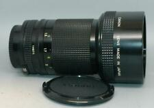 Canon 200mm f2.8 FD manual focus (IF) lens for A1 AE-1 F1 camera etc. - Mint-!