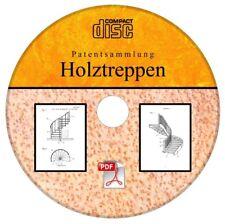 Holztreppe selber bauen, 89 deutsche Patente auf CD Treppe Stiege