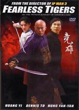 Fearless Tigers ---- Hong Kong Kung Fu Martial Arts Action movie DVD - NEW DVD