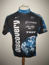 Discovery channel 2007 USA jersey shirt cycling maglia trikot Nike size L