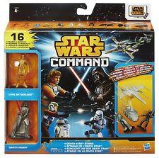 Set Star Wars Command Death Star Strike 16 pces NIB Hasbro A8947 A8946 figures