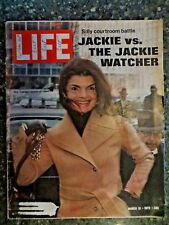 Life Magazine  March 31,1972  Jackie Kennedy Onassis  VINTAGE ADS