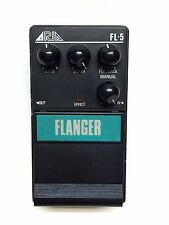 Aria FL-5, Flanger, Made In Japan, 1985-late 80's, Vintage Effect Pedal