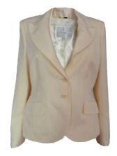 Cappotti e giacche da donna bianchi con monopetto