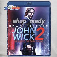 Keanu Reeves John Wick 2 en Formato Blu-ray Region A