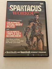 The Spartacus Workout 2 DVD set by Men's Health Total Body Blitz Triple scorcher