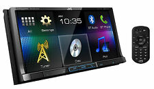 JVC KW-V41BT Refurbished DVD/CD/USB Receiver 7-inch WVGA Touch Panel w/ BT