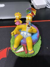 The Simpsons Cool Days of Summer Hamilton Collection-At Home With Homer-#1549
