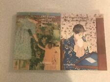 2 Sotheby's Art Auction Catalogs - Old Master, 19th & 20th Century Prints – 1996
