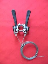 Vintage Shimano Shifter Set With Cables, Clamp Bolt & Nut