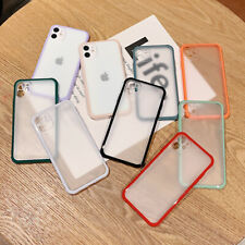Transparent Shockproof TPU Phone Case Cover For iPhone 11 Max XR Xs 6s 8 SE 2020