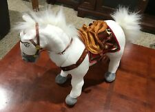 "Disney Store Exclusive Tangled Rapunzel Maximus Horse Plush 16"" Stuffed Animal"